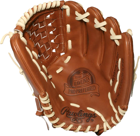 Tim Lincecum glove, Rawlings, Rawlings Pro Preferred, PROS991BCBR