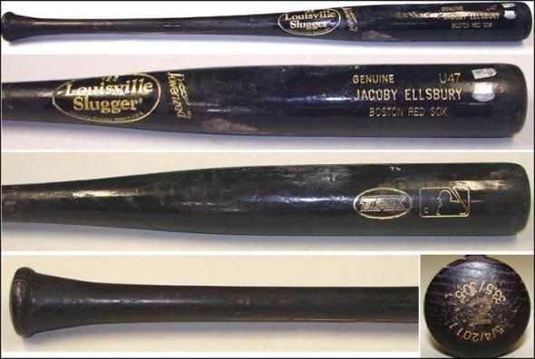 ellsbury bat, jacoby ellsbury bat