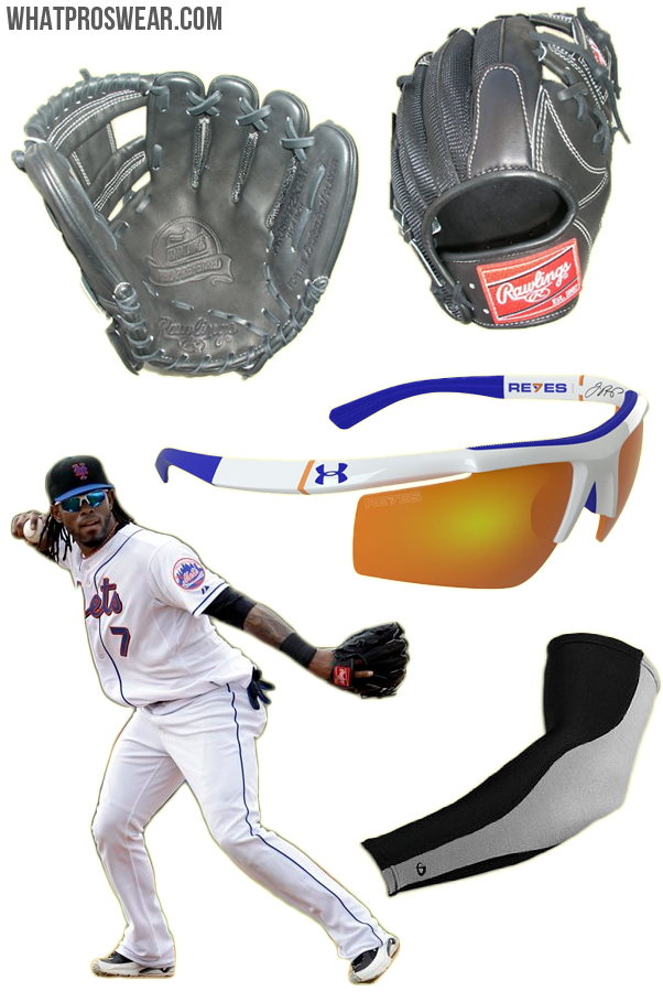 4502cb5b697d What the Pro Wears: Jose Reyes (Glove, Sunglasses, Sleeve)