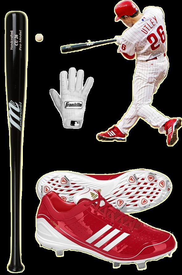 chase utley bat, chase utley batting gloves, chase utley cleats, utley adidas, utley marucci, utley franklin
