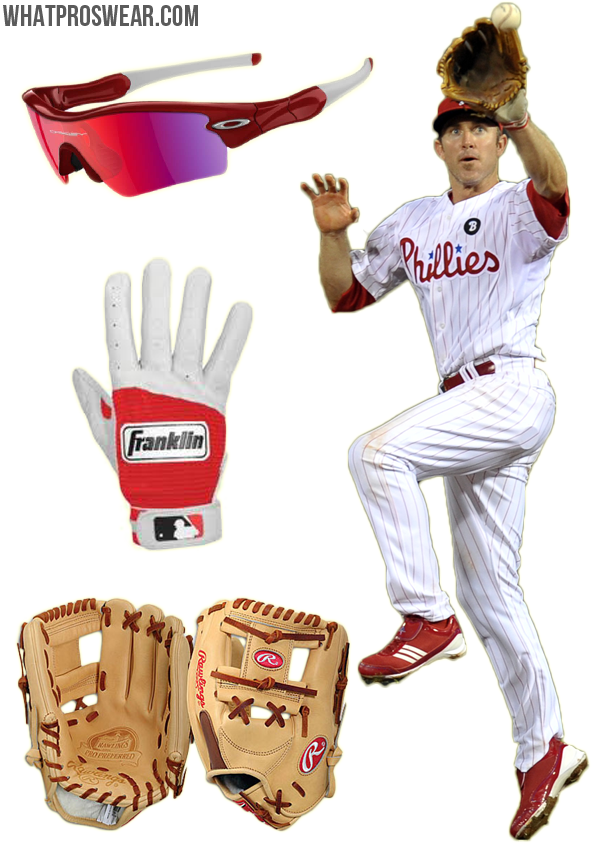 3bc46570501f Player Profile: Chase Utley   What Pros Wear