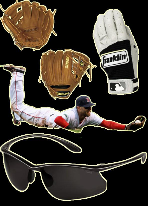 dustin pedroia glove, dustin pedroia sunglasses, a2000 dp15, franklin pro classic, franklin neo classic